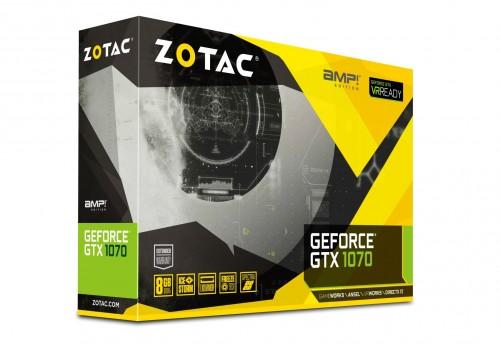 ZOTAC stellt neue GeForce GTX 1070 der AMP!-Edition vor