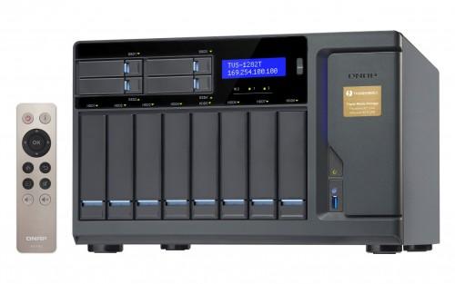 QNAP TVS-x82T und TVS-x82: Hochleistungs-NAS für bis zu 12 Festplatten