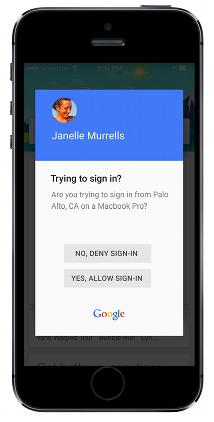 Google Prompt vereinfacht Zwei-Faktor-Authentifizierung