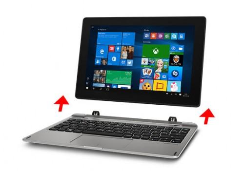 Aldi: Akoya E1240T - 10-Zoll-Convertible mit Windows 10 für 249 Euro