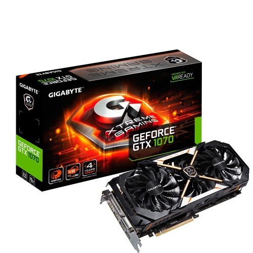 Gigabyte Xtreme Gaming: Schnellste GeForce GTX 1070 vorgestellt