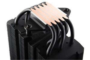 Enermax ETS-T50 AXE: CPU-Kühler kann sich selbst entstauben
