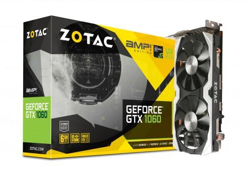 Bild: Zotac Geforce GTX 1060 Mini: Kurze Variante von Nvidias neuer Mittelklasse-VGA