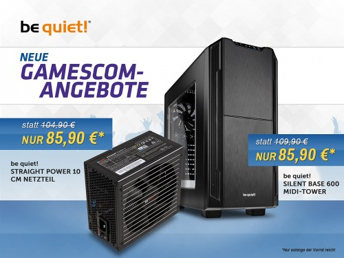 Caseking Angebote: Be Quiet! Straight Power und Silent Base 600