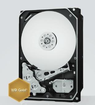 Western Digital Gold 10 TB: Neue Festplatte mit Heliumfüllung