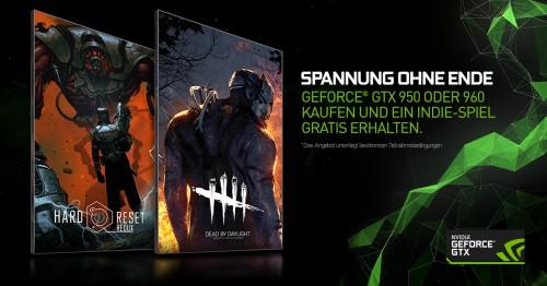 Nvidia: Neues Gaming-Bundle für die GeForce GTX 960 und GTX 950