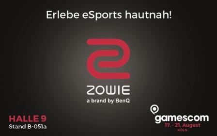 BenQ: Neue ZOWIE-Produkte für Pro-Gamer auf der Gamescom 2016