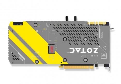 Zotac ArcticStorm Edition: Wassergekühlte GeForce GTX 1080 mit Single-Slot-Kühler