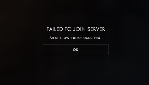Bf1 beta failed to join server