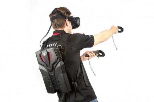 Bild: MSI VR One: Rucksack-PC für November 2016 angekündigt