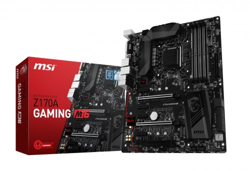 Bild: MSI Z170A Gaming M6: LGA1151-Mainboard mit E2500-Chip und Lightning-USB