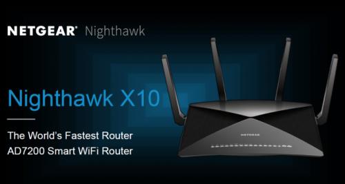 Netgear Nighthawk X10: Router mit WLAN-AD-Standard