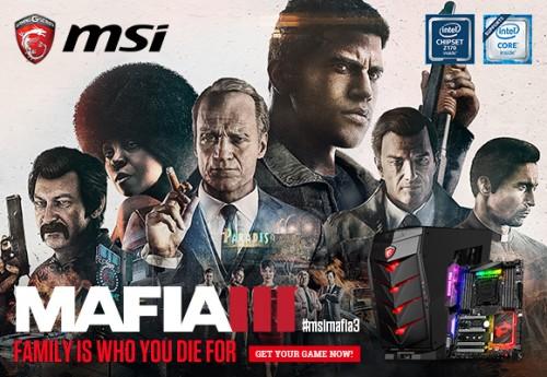 Bild: MSI bietet Mainboard- und PC-Bundles mit Mafia 3 an