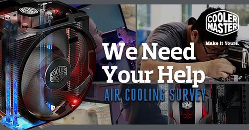 Cooler Master: Entscheidet mit wie der nächste Kühler aussehen soll!