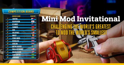 Bild: Cooler Master Mini Mod Invitational: Modding der kleinsten Systeme