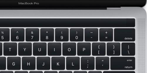 Apple leakt Magic Toolbar vom neuen MacBook Pro