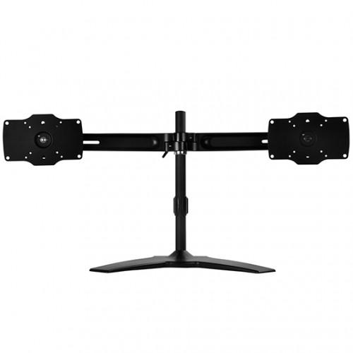SilverStone ARM23BS: Monitorständer mit zwei VESA-Halterungen