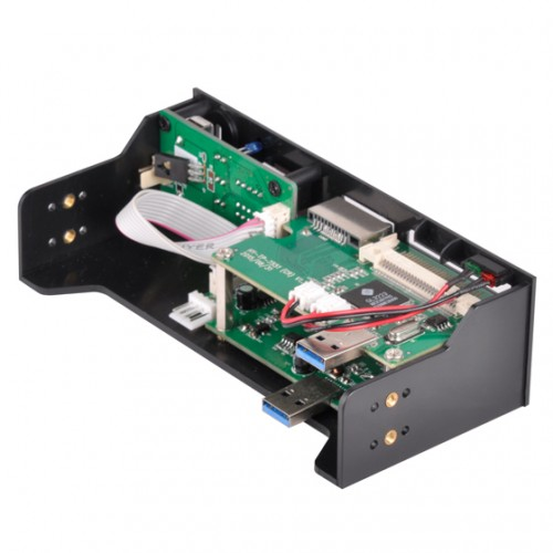 Bild: SilverStone FP59: 5,25-Multifunktions-Panel mit USB-Typ-C-Anschluss