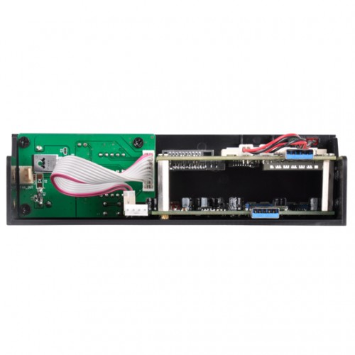 SilverStone FP59: 5,25-Multifunktions-Panel mit USB-Typ-C-Anschluss
