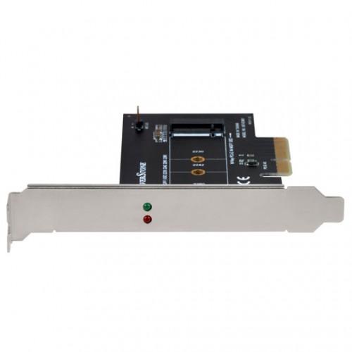 Bild: SilverStone ECM21: PCIe-Nachrüstkarte für einen M.2-Slot