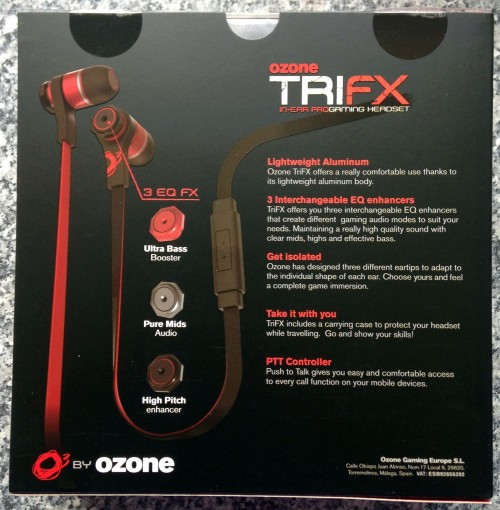 Ozone TRIFX In Ear Pro Gaming Headset (2)