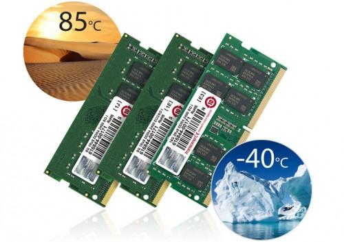 Transcend stellt SO-DIMMs für bis zu 85 Grad Celsius vor