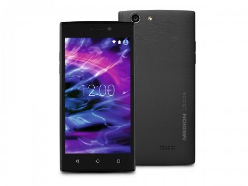 Medion E5005: 5-Zoll-Smartphone mit LTE für unter 100 Euro bei Aldi