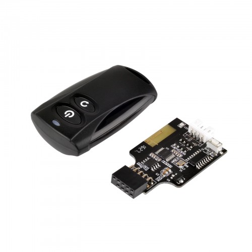 SilverStone ES02-USB: Wireless An- und Aus-Schalter für den PC