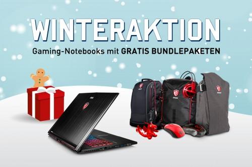 Bild: MSI: Bis zu 215 Euro an Extras beim Kauf eines Gaming-Notebooks