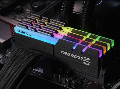 G.SKILL präsentiert TridentZ-RGB-DDR4-Serie
