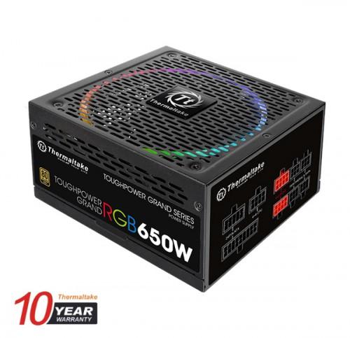 Bild: Thermaltake Toughpower: Neue Netzteile mit RGB-Beleuchtung und bis zu 850