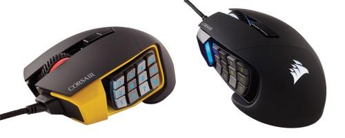 Bild: Corsair Scimitar Pro RGB: Gaming-Maus mit 16.000-DPI-Sensor und 12 Seitentasten