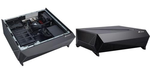 Bild: Corsair Bulldog 2.0: Das Wohnzimmer-PC-Kit mit Anspruch