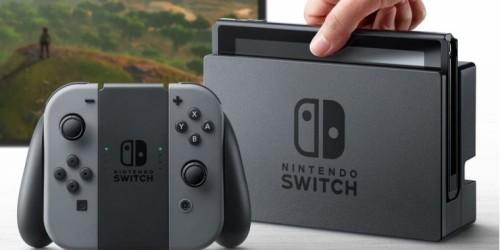 Nintendo Switch: Interner Speicher reicht nicht einmal für ein Spiel