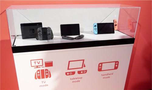 Hands-On zum neuen Nintendo Switch
