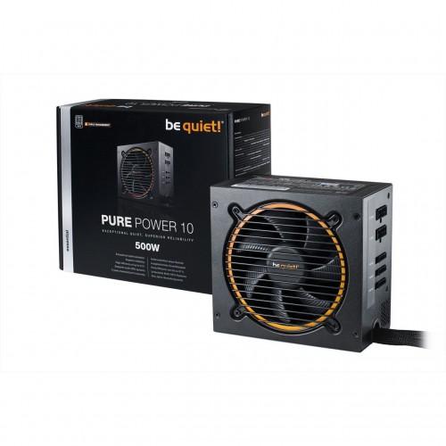 Bild: Be quiet! Pure Power 10: Einsteiger-Netzteile mit Premium-Features