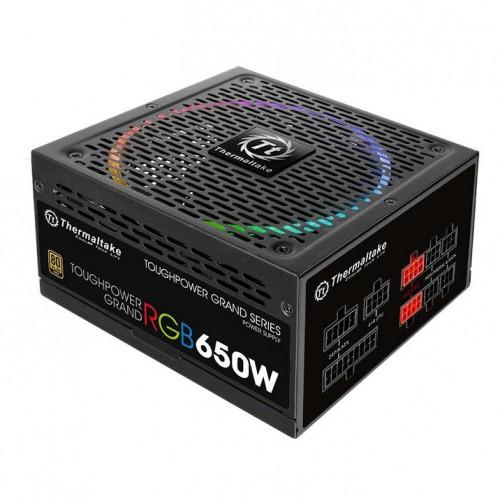 Bild: Thermaltake Toughpower Grand RGB 650W Gold - Vollmodulares Netzteil mit RGB-Beleuchtung