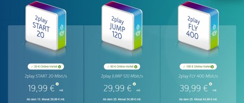 Unitymedia mit neuen Tarifen mit bis zu 400 MBit/s