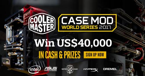 Bild: Cooler Master Case Mod World Series 2017 mit Gewinnen von 40.000 US-Dollar