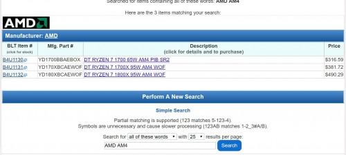 AMD: Günstigste Ryzen-CPU wird für 385 Euro gelistet