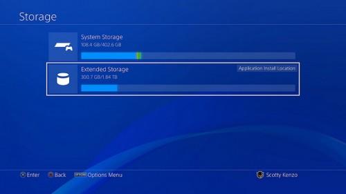 PlayStation 4: Neues Firmware-Update bringt die Unterstützung Externer-Festplatten