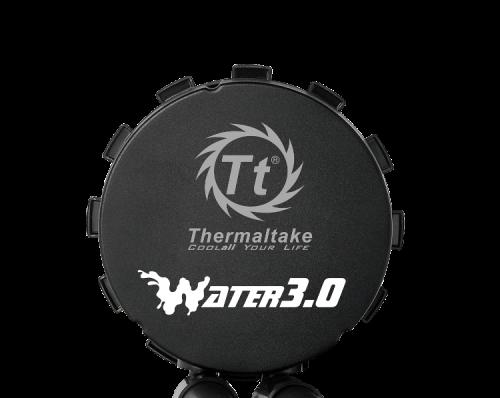 Thermaltake Water 3.0 Riing RGB 360 All-In-One-Wasserkühler vorbereitet für Ryzen