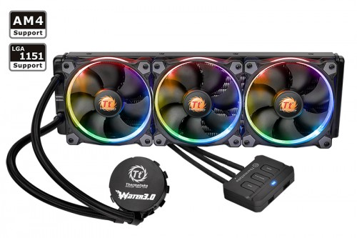thermaltake water 3 0 riing rgb 360 all in one. Black Bedroom Furniture Sets. Home Design Ideas