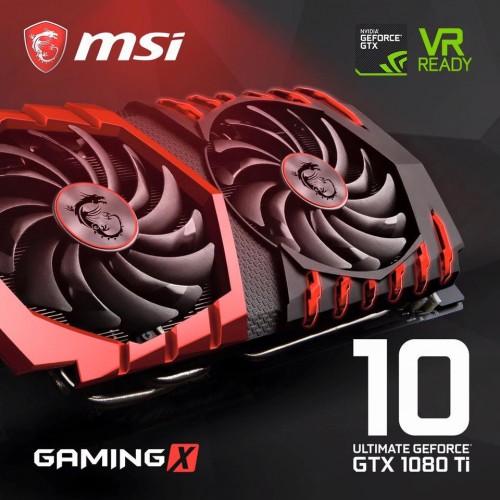 Bild: MSI GeForce GTX 1080 Ti Gaming X aufgetaucht