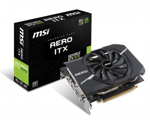 Bild: MSI stellt GeForce GTX 1070 als AERO-ITX-Modell vor