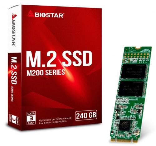 Biostar stellt mit der M200-Serie neue M.2-SSDs aus dem eigenen Haus vor