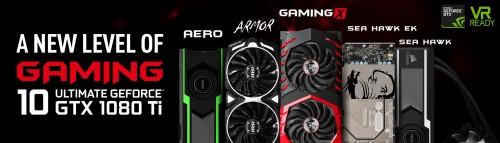 Bild: MSI präsentiert Line-Up der GeForce GTX 1080 Ti - Fünf Modelle