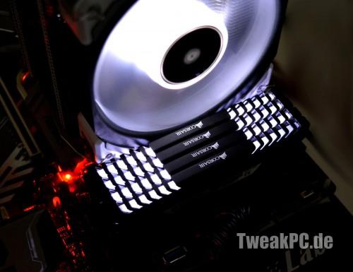 Kurztest: Corsair ML Lüfter mit Magnetschwebelager und LED Beleuchtung