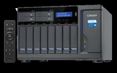 QNAP TVS-1282T3 mit Thunderbolt 3 und Core i7-7700