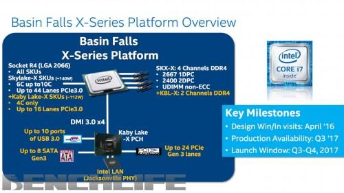 Intel: Skylake-X und Kaby Lake-X bereits zu Computex?